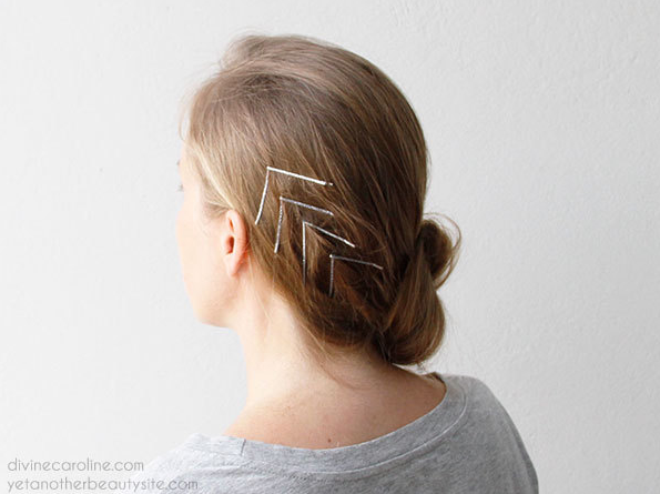 Hairstyle Hacks - 20 Fabulous Ways to Use Bobby Pins7