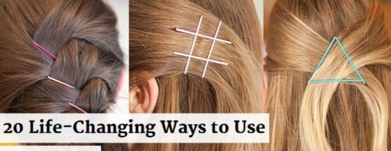 Hairstyle Hacks – 20 Fabulous Ways to Use Bobby Pins