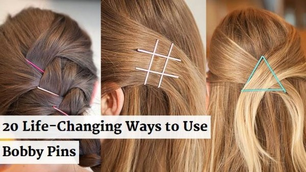 Hairstyle Hacks - 20 Fabulous Ways to Use Bobby Pins