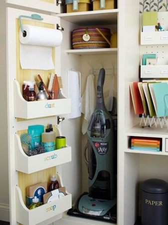 50-Home-Storage-Solutions-Ideas-Cabinet-Door-Storage-Bin