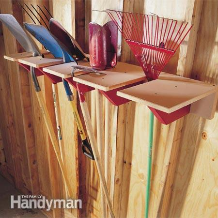 50-Home-Storage-Solutions-Ideas-Shovel-Rack