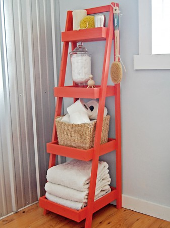 50-Home-Storage-Solutions-Ideas-Storage-Ladder
