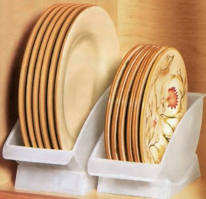 50-Home-Storage-Solutions-Ideas-dinner-plate-cradle