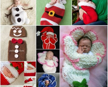 Cute crochet Christmas Cocoon Patterns