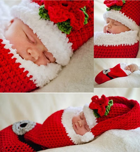 Cute crochet Christmas Cocoon Patterns2