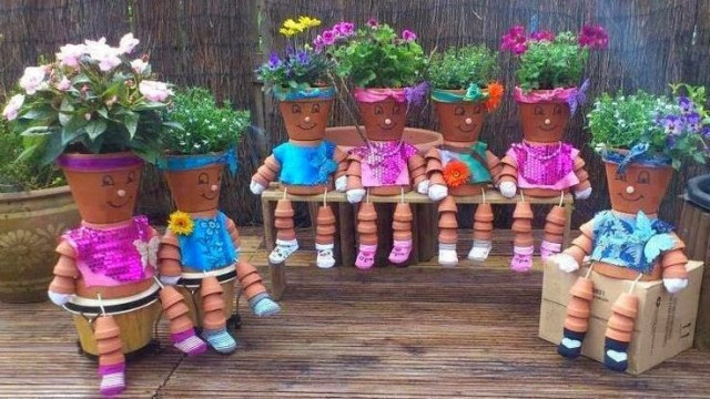 DIY-Clay-Pot-Planter-People-Tutorials