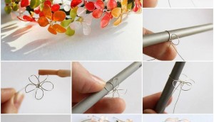 DIY Nail Polish Flower