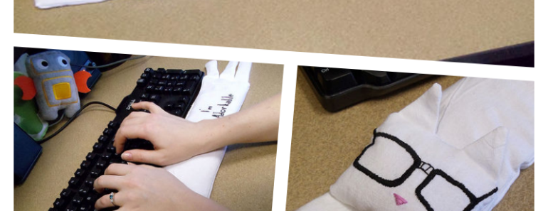 DIY Wrist Rest – Keyboard Cat