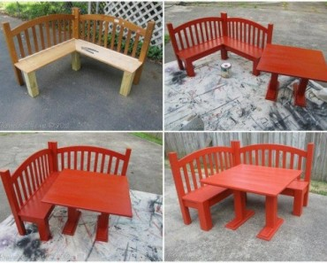 DIY Kids Corner Bench tutorial