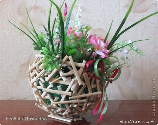 Flower-Topiary-from-chopsticks02