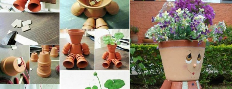 DIY Clay Pot People Tutorials and Inspirations