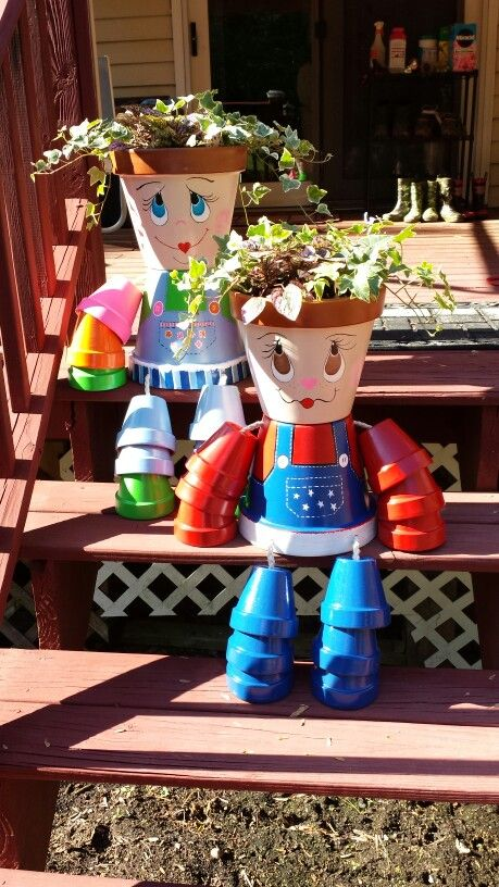 How-to-DIY-Clay-Pot-Planter-People5