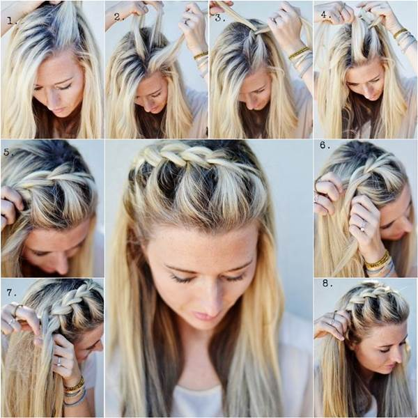 How-to-Make-French-Braid-Hairstyle-Tutorial-French-Braid-Half-Up