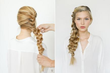 How-to-Make-French-Braid-Hairstyle-Tutorial-frozens-elsa-french-braid