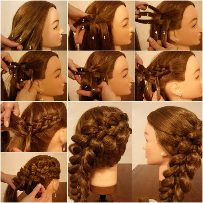 How-to-Weave-Five-Strand-French-Braid-Hairstyle