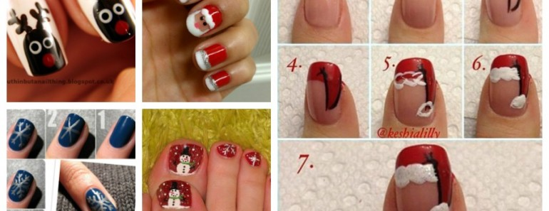 20+ Cutest Christmas Nail Art Designs