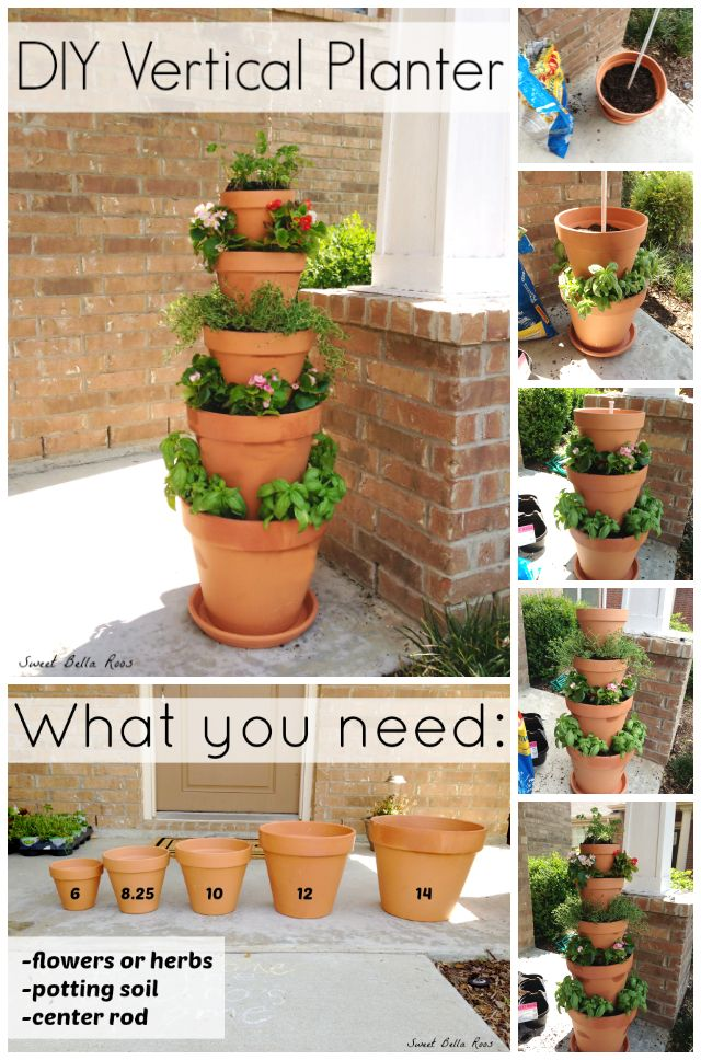 25 clay pot diy projects to beautify your garden beesdiy 20 amazing clay pot diy projects for your garden19 solutioingenieria Images