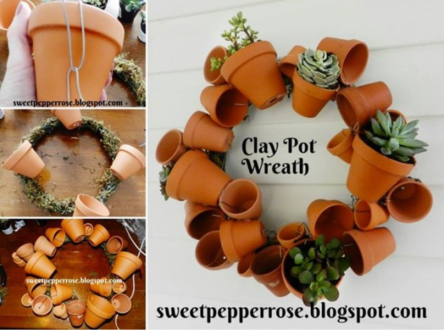 25 clay pot diy projects to beautify your garden beesdiy 20 amazing clay pot diy projects for your garden4 solutioingenieria Choice Image