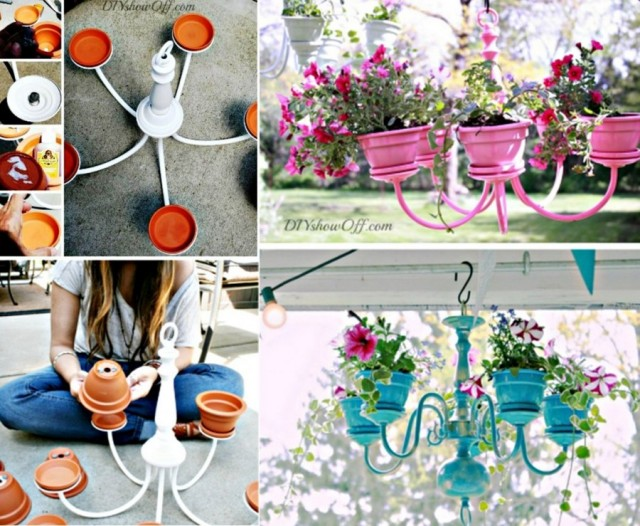 25 clay pot diy projects to beautify your garden beesdiy 20 amazing clay pot diy projects for your garden5 solutioingenieria Choice Image