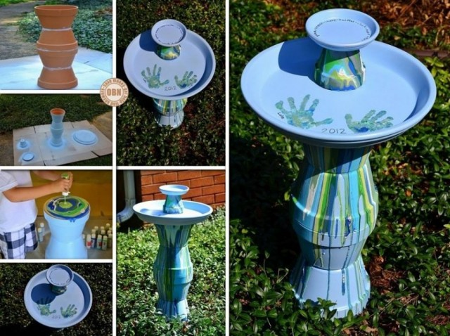 25 clay pot diy projects to beautify your garden beesdiy com