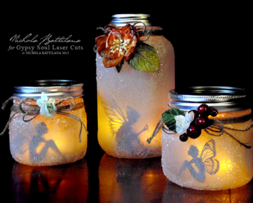 DIY Mason Jar Fairy Lights