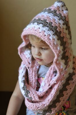 Crochet Hooded Cowl FREE Patterns