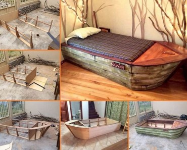 DIY Boat Bed Tutorial