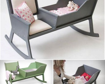 DIY Rocking Chair & Cradle In One