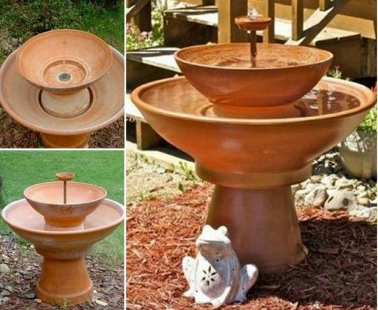 DIY Terracotta Pot Water Fountain2