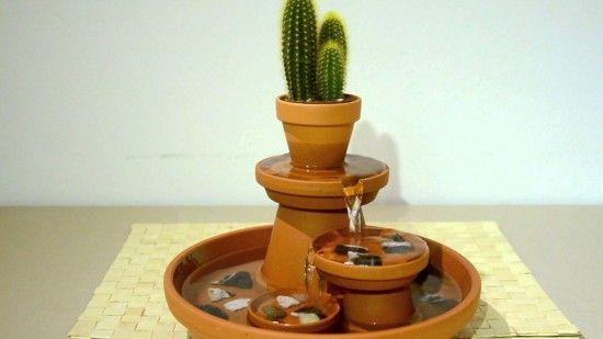 DIY Terracotta Pot Water Fountain5