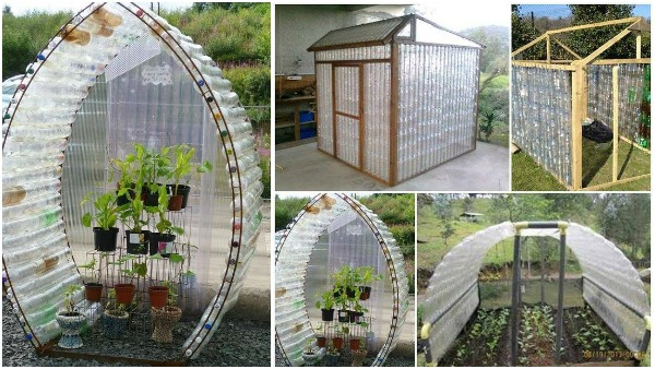 DIY Recycled Plastic Bottle Green House