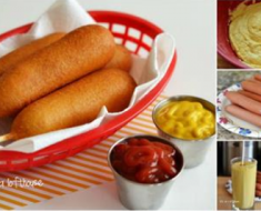 DIY Homemade Corn Dog