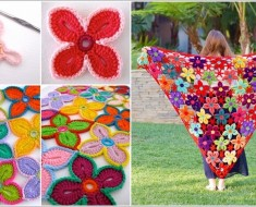 Crochet Hawaiian Flower FREE Pattern