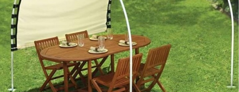 How to Make Adjustable DIY Outdoor Canopy
