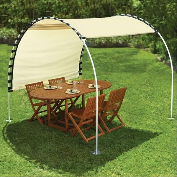 How to Make Adjustable DIY Sun Tracking Canopy2