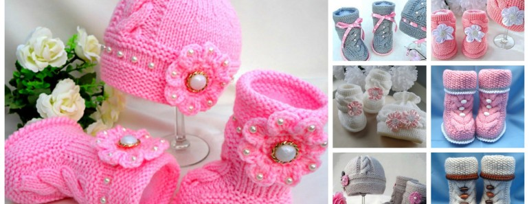 Knit Hat Booties for Baby – Super Cute Patterns