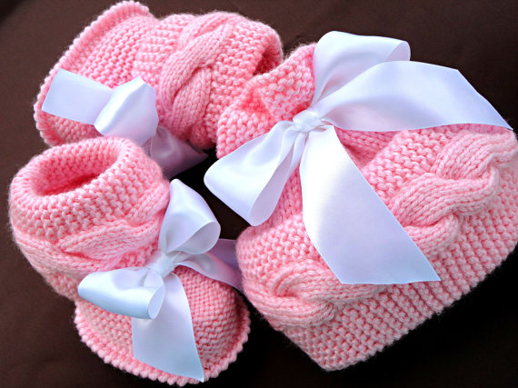 Knit Hat Booties for Baby - Super Cute Patterns8