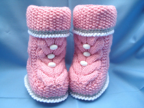 Knit Hat Booties for Baby - Super Cute Patterns9