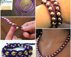 Make Easy DIY Beaded Bracelet