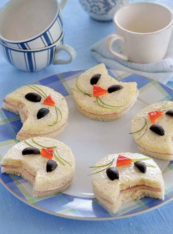 0+ Creative Sandwich Ideas-cat h
