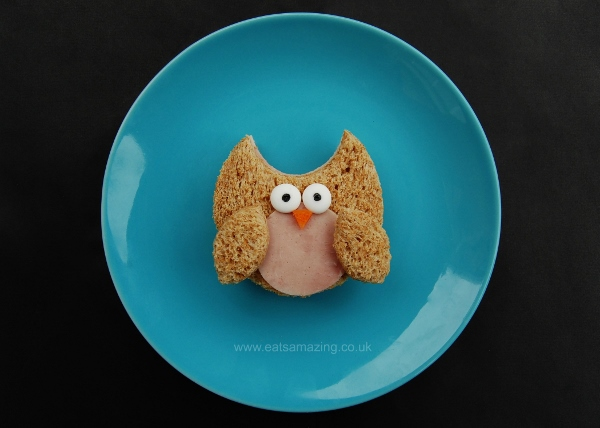 10+ Creative Sandwich Ideas- owl