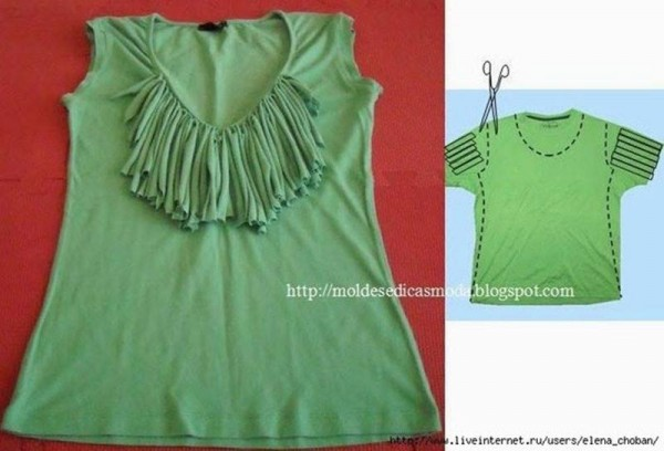 20+ Cool Ideas to Refashion Old Shirts 16