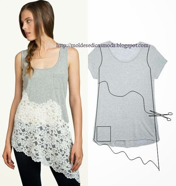 20+ Cool Ideas to Refashion Old Shirts 5