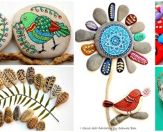 How To Paint Stones and Pebbles ( so creative)