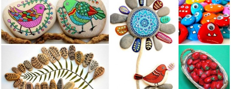 How To Paint Stones and Pebbles ( So Creative )
