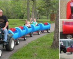 DIY Choo Choo Train