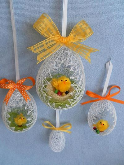 DIY Egg Shaped Easter Basket 14
