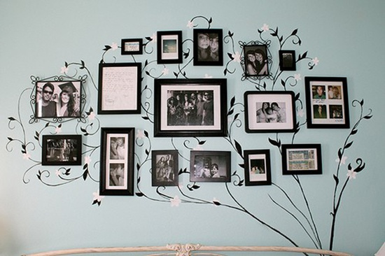 DIY Family Tree Wall Art Decor10