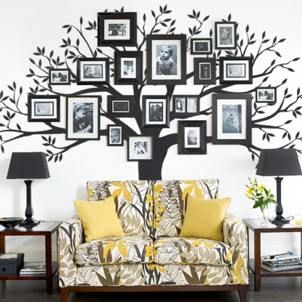 DIY Family Tree Wall Art Decor11
