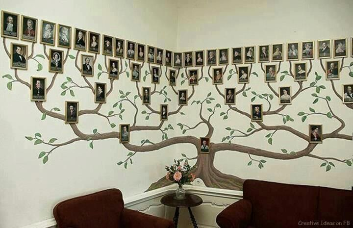 DIY Family Tree Wall Art Decor12